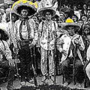 Revolutionary Soldiers Unknown  Mexico Location 1914-2014 Poster