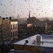 Ridgewood Wet With Rain Poster