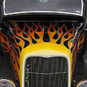 Riding The Flame Poster