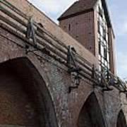 Riga Old City Walls Poster