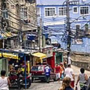 Rio De Janeiro  Brazil - Favela Poster