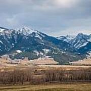 Rocky Mountains In Montana Poster