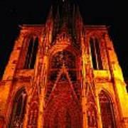 Rouen Church Poster