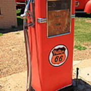 Route 66 Gas Pump Poster