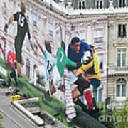 Rugby In Paris Poster