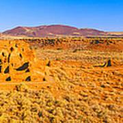 Ruins Of 900 Year Old Hopi Village Poster