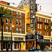 Saenger Theatre New Orleans Paint 2 Poster