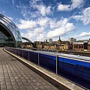 Sage Gateshead And Newcastle Skyline Poster