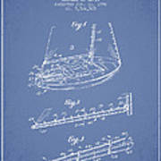 Sailboat Patent From 1996 - Vintage Poster