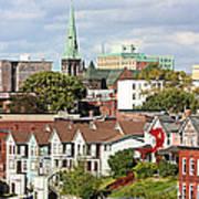 Saint John New Brunswick Poster