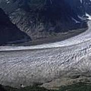 Salmon Glacier Poster