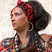 Santeria Woman Poster