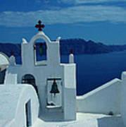 Santorini  Island Greece  Poster