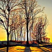 Scenic Sunset Poster