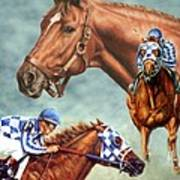 Secretariat - The Legend Poster by Thomas Allen Pauly