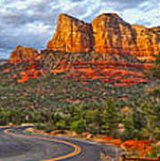 Sedona Arizona Panorama Poster
