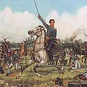Seguin At San Jacinto Poster