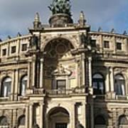 Semper Opera Dresden Germany Poster