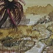Sepia Sunrise Poster