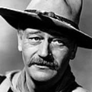 She Wore A Yellow Ribbon, John Wayne Poster