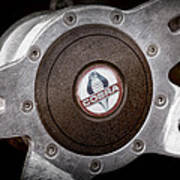 Shelby Cobra Steering Wheel Emblem Poster