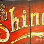 Shoe Shine Kit Poster