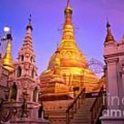 Shwedagon Paya - Yangoon Poster