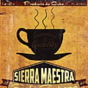 Sierra Maestra Cuban Coffee Poster