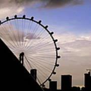 Singapore Cityscape Poster