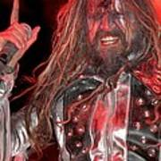 Singer Rob Zombie Poster