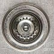 Sink Plug Poster by Tim Hester