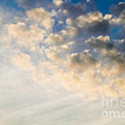 Sky With Clouds Poster