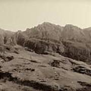 Slope Of Hills In The Scottish Highlands Poster