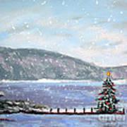 Smith Mountain Lake Christmas Poster