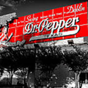 Spend Some Time In Dublin Texas With Dr Pepper Poster