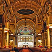 St. Leonard's Church....boston Poster