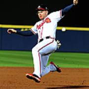St. Louis Cardinals V Atlanta Braves Poster