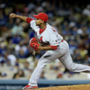 St Louis Cardinals V Los Angeles Dodgers Poster