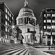 St Paul's London Poster