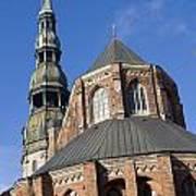 St. Peter's Church Riga Poster