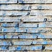 Stone Wall Texture Poster