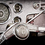 Studebaker Steering Wheel Emblem Poster