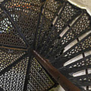 Sturgeon Point Lighthouse Spiral Staircase Poster