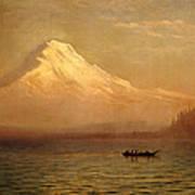 Sunrise On Mount Tacoma Poster