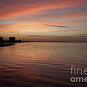 Sunrise Over Fort Myers Beach Photo Poster
