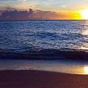 Sunset Over Boca Grande  Florida Poster by Fizzy Image