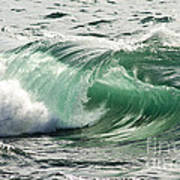 Surf Zone At The Barents Sea Coast Poster