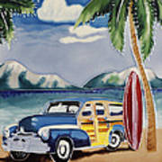 Surfers Dream Poster by Kip Krause