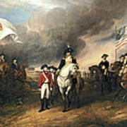 Surrender Of Lord Cornwallis Poster by John Trumbull
