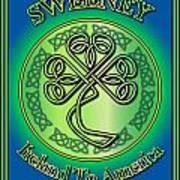 Sweeney Ireland To America Poster